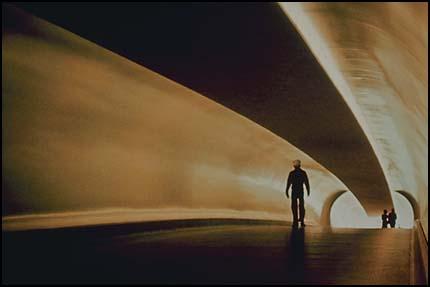 Композиция, правило третей - перспектива в туннеле