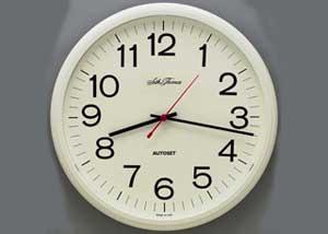 Вставка - кадр часов для перехода кадров