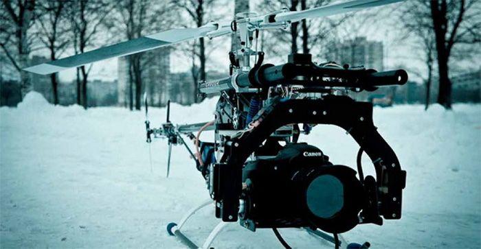 Съемки с вертолета