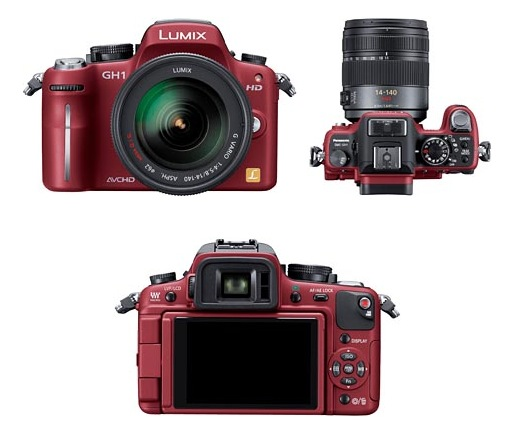 Panasonic GH1 dslr камера