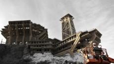 """Конструирование миниатюры к фильму """"Начало"""" / Inception miniature explosion behind the scenes construction (2010) [Видео]"""