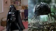 Сила & Чёрный таракан / Volkswagen Commercial: The Force & Black Beetle (2011) Реклама [Видео]