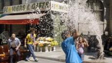 Прогулка по городу. Визуальные эффекты / Fuji Finepix 3d 'City Trip' making of (2011) VFX [Видео]
