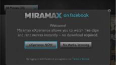 Киностудия Miramax запустила Facebook-приложение для просмотра фильмов