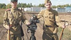 14-летний школьник снимает фильм о войне
