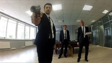 Biting Elbows - 'Bad Motherfucker' / Побег из офиса (2013) Клип