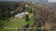 Аэросъемка поместья Великого поэта Альфреда Теннисона в Великобритании