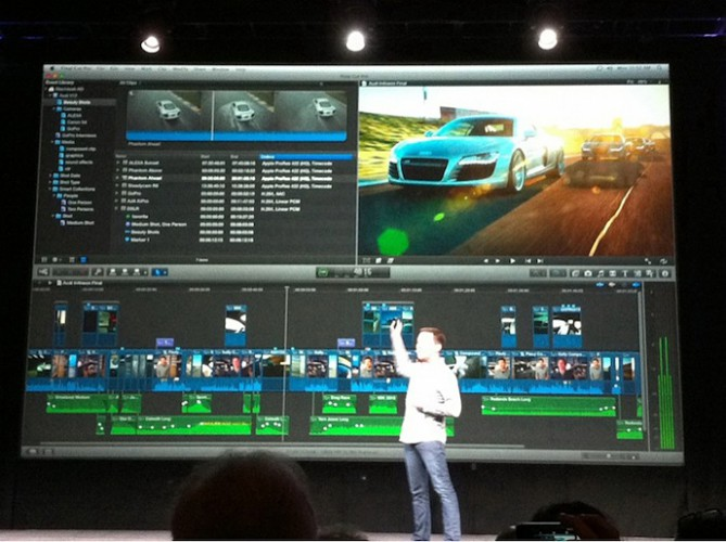 Apple представила Final Cut Pro X