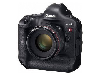 Canon анонсировала 2 камеры EOS-1D C и EOS C500, снимающие видео с разрешением 4k