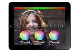 Предварительная цветокоррекция на съемочной площадке с помощью Color-Correction App для iPhone/iPad
