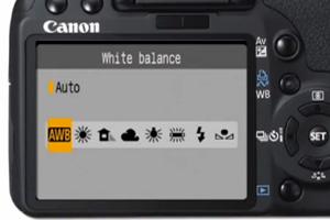 Баланс белого с DSLR-камерой Canon - не так все просто, как с видеокамерой