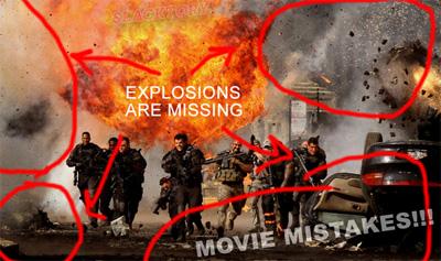 Составлен список фильмов с наибольшим числом ошибок