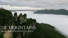 Blue Mountains, Австралия (timelapse)