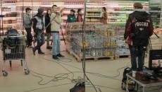 """небольшое видео со съёмок т/с """"Супермаркет"""" . Алматы. Казахстан."""