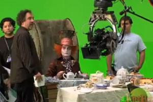 Алиса в Стране Чудес (За кадром) / Alice In Wonderland (Behind the Scenes) (2010) [Видео]