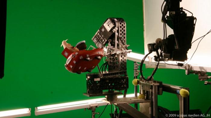 Песочный человечек: Приключения в сказочной стране. Моушн-контроль / Sandman and the Lost Sand of Dreams. Motion Control Making of (2010) [Видео]