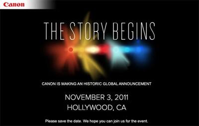"""Canon анонсировал нечто """"грандиозное"""" для Голливуда"""